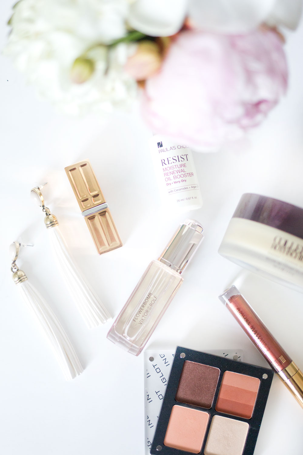 Spring Beauty Favorites: Viktor + Rolf Precious Oil, Adia Kibur Stella Tassel Earrings, and Inglot Eyeshadow // Hello Rigby Seattle Style & Beauty Blog