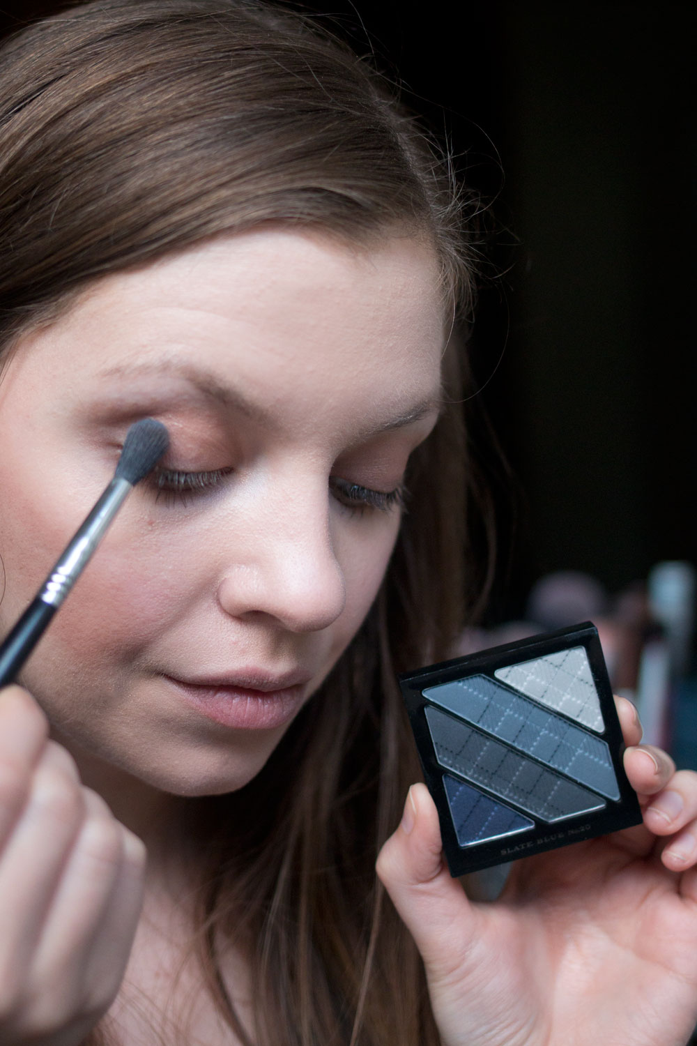 Burberry Beauty Blue Cut Crease with Burberry Eye Palette in Blue Slate // Hello Rigby Seattle Beauty Blog