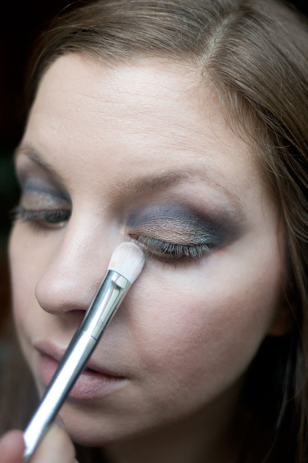 Burberry Beauty Blue Smokey Eye Look with Eye Palette in Blue Slate // Hello Rigby Seattle Beauty Blog