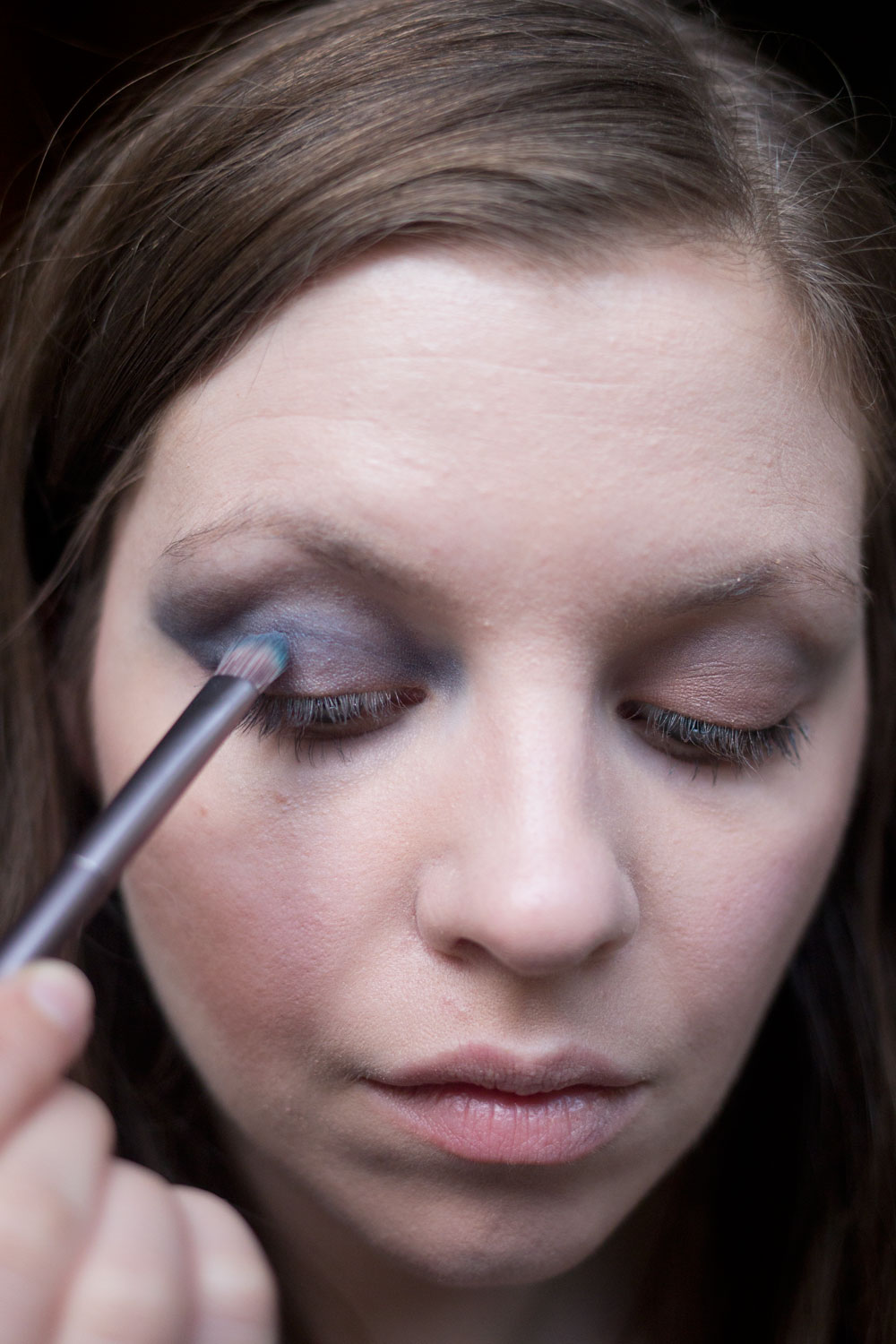 Burberry Beauty Blue Smokey Eye with Eye Palette in Blue Slate // Hello Rigby Seattle Beauty Blog