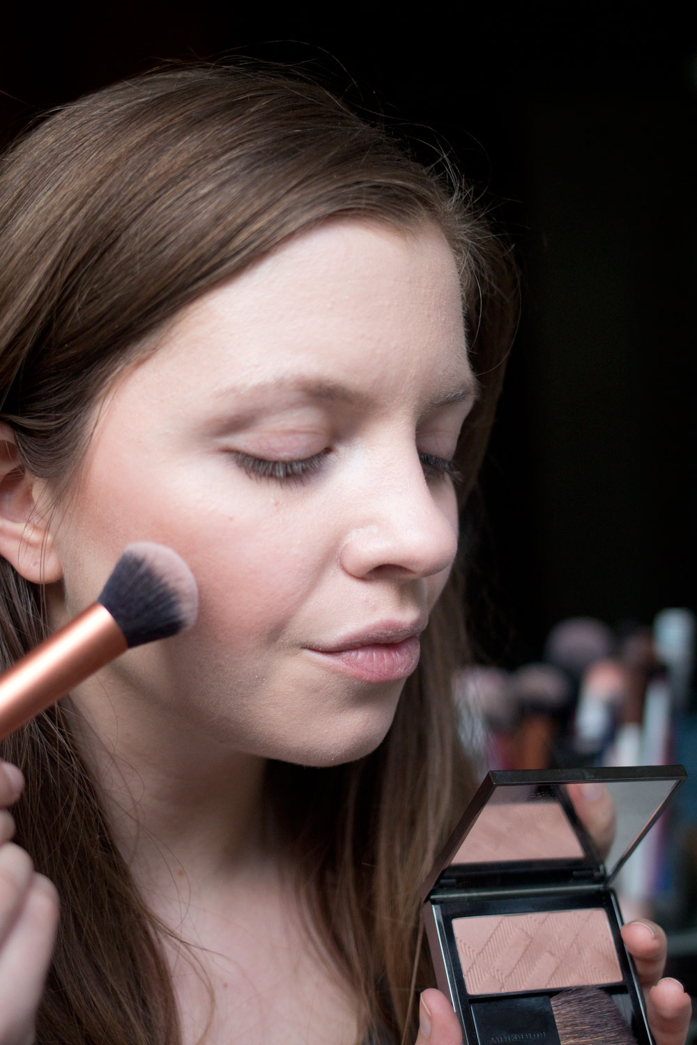 Burberry Beauty Light Glow Blush in Earthy Review // Hello Rigby Seattle Beauty Blog