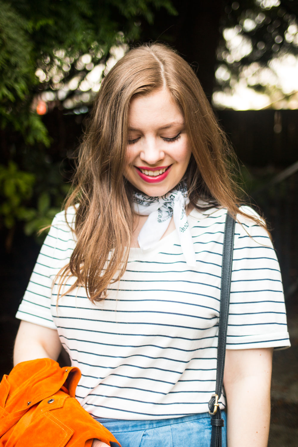 Elizabeth & Clarke Ash Striped T-Shirt with Culottes Outfit // Hello Rigby Seattle Fashion Blog