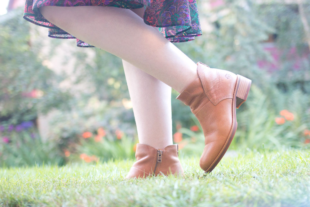 Fall Fashion Trends: Ankle Booties with Dresses // Hello Rigby Seattle Fashion Blog