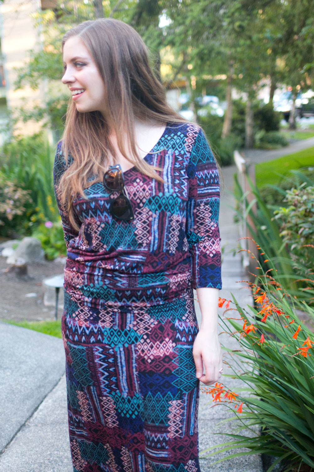 Fall Fashion Trends: Autumn Colored Maxi Dresses // Hello Rigby Seattle Fashion Blog