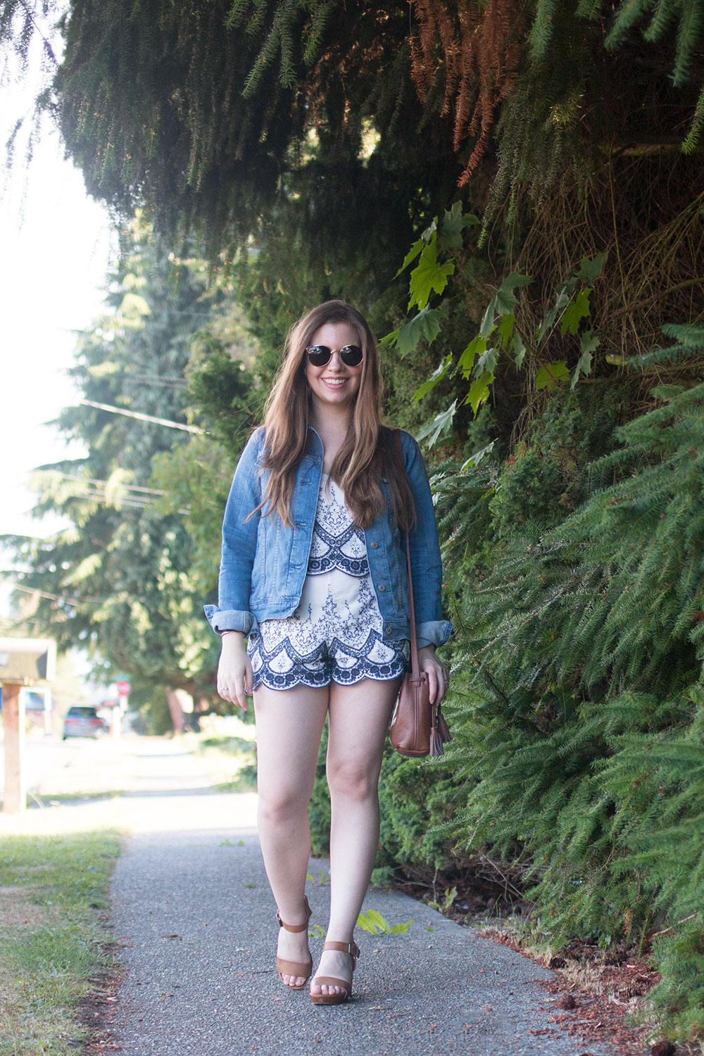 How to Style a Romper for Summer // Hello Rigby Seattle Fashion Blog