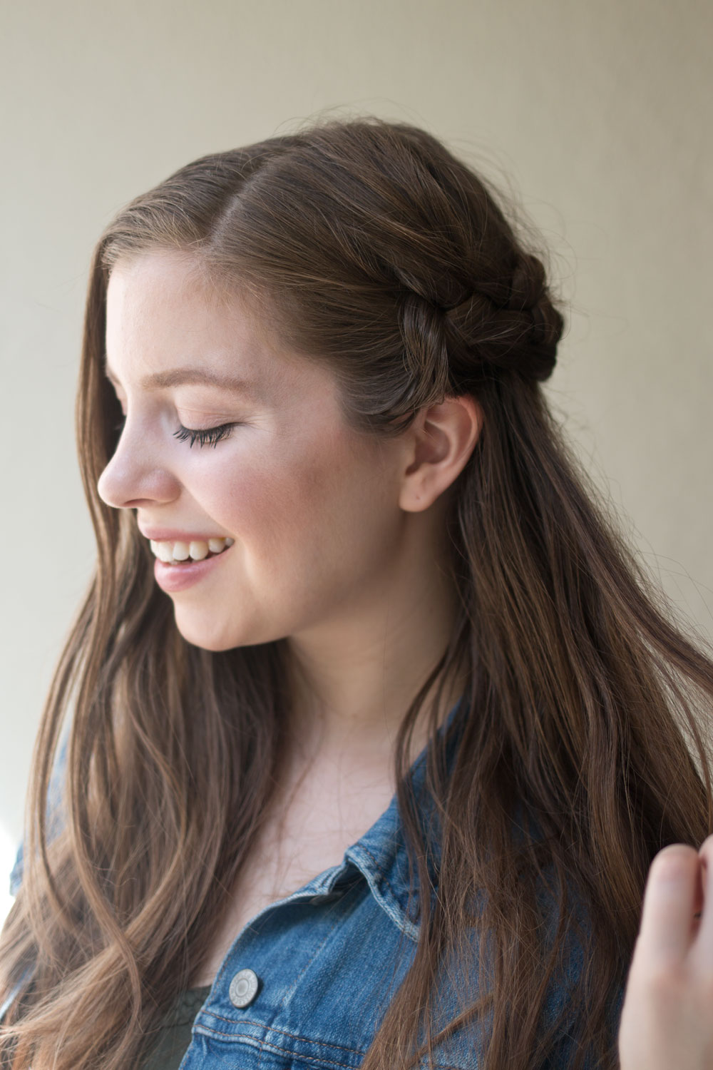 Lazy Hairstyles: Side Braid Tutorial // Hello Rigby Seattle Hair Blog