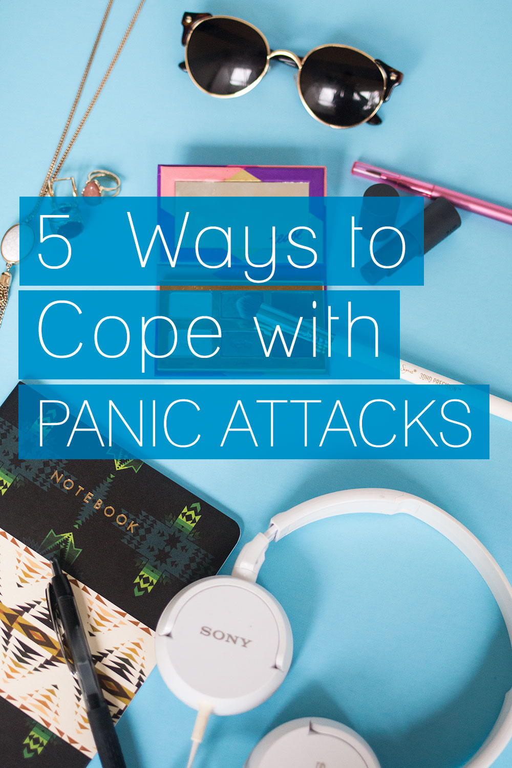 5 Ways to Cope with Panic Attacks: What to do when you wake up in a sheer panic. Coping strategies from one anxiety suffer to another via @hellorigby // Seattle Lifestyle Blog