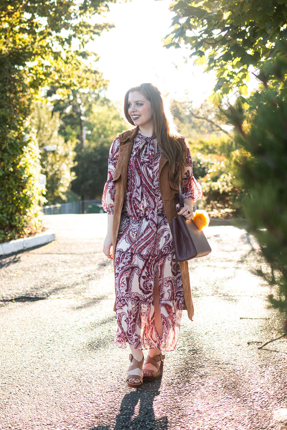 Back to School Outfit: Fall 70s Inspired Hippie Chic Look // Hello Rigby Seattle Fashion Blog