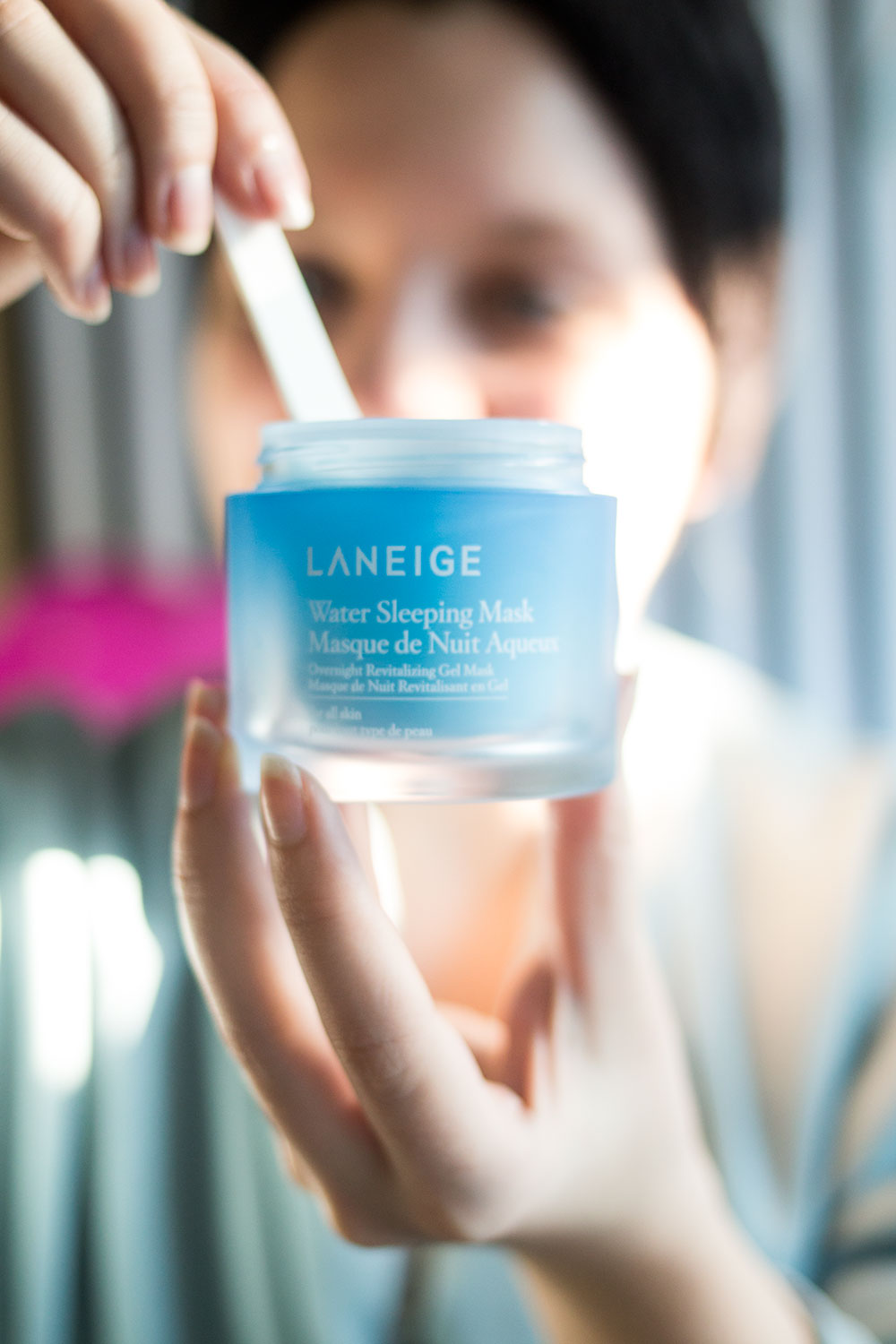 Get Glowy Skin with Laneiege Water Sleeping Mask // Hello Rigby Seattle Beauty Blog