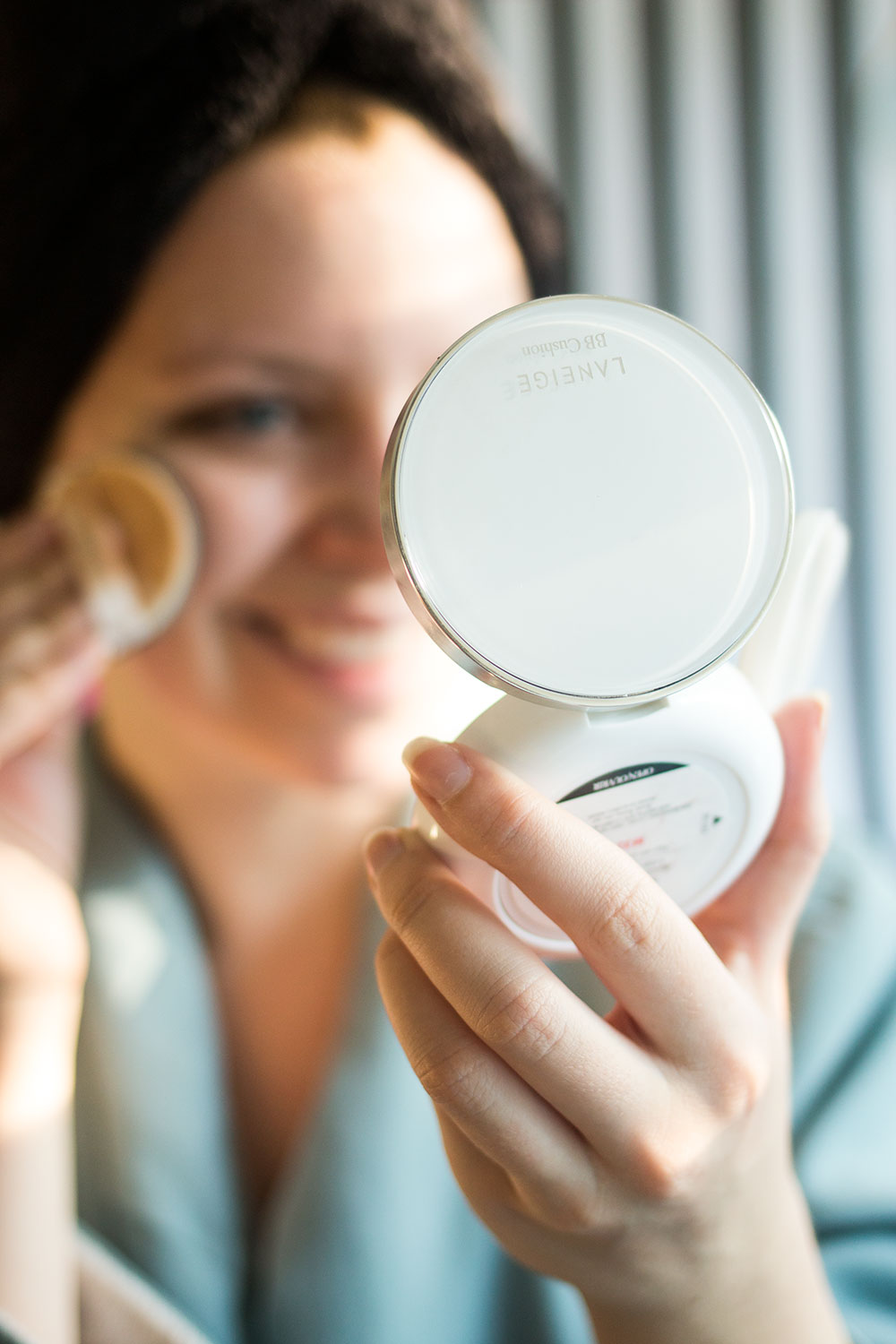 Glowy Skincare Tips Laneige BB Cushion in Fair Review // Hello Rigby Seattle Beauty Blog
