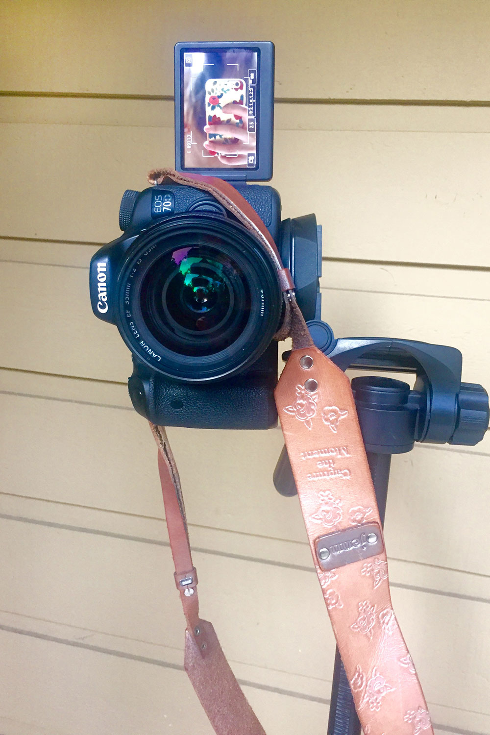 How to Take Photos of Yourself with Tripod and Camera Remote // Hello Rigby Seattle Fashion Blog