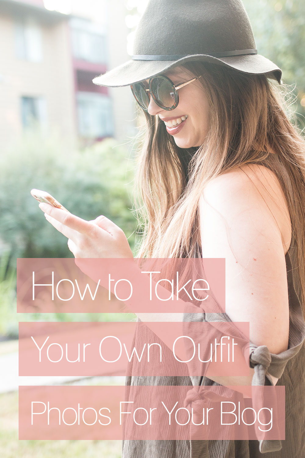 How to Take Your Own Outfit Photos for Your Blog: The complete guide to the equipment you need, camera settings, posing tricks, and tips on where and when to shoot! via @hellorigby