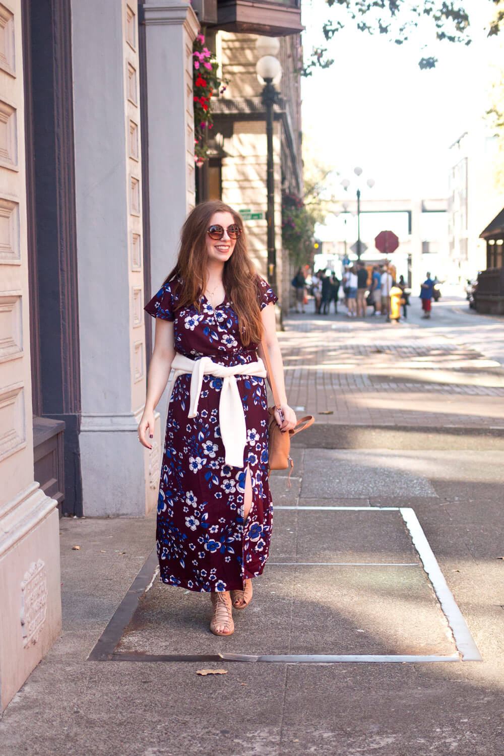 How to Wear a Maxi Dress in Cold Weather // Hello Rigby Seattle Fashion Blog