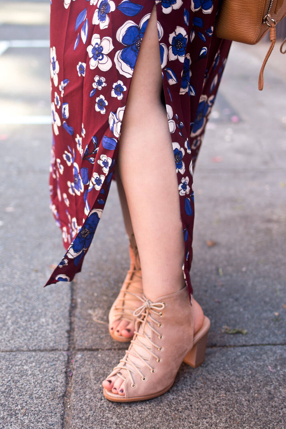 How to Wear a Maxi Dress with Booties // Hello Rigby Seattle Fashion Blog