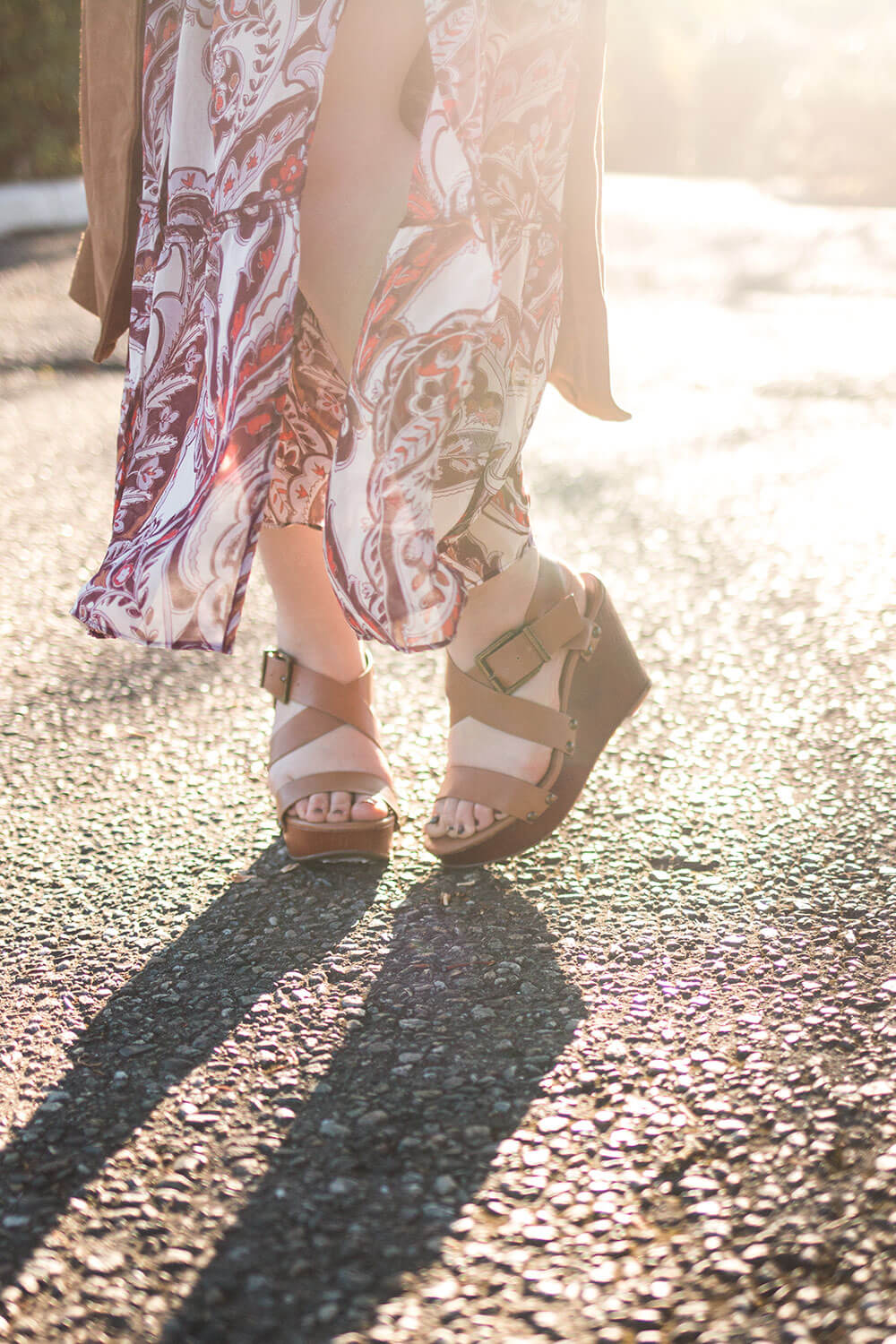 Lucky Brand Missey Wedge Sandals // Back to School Outfit // Hello Rigby Seattle Style Blog