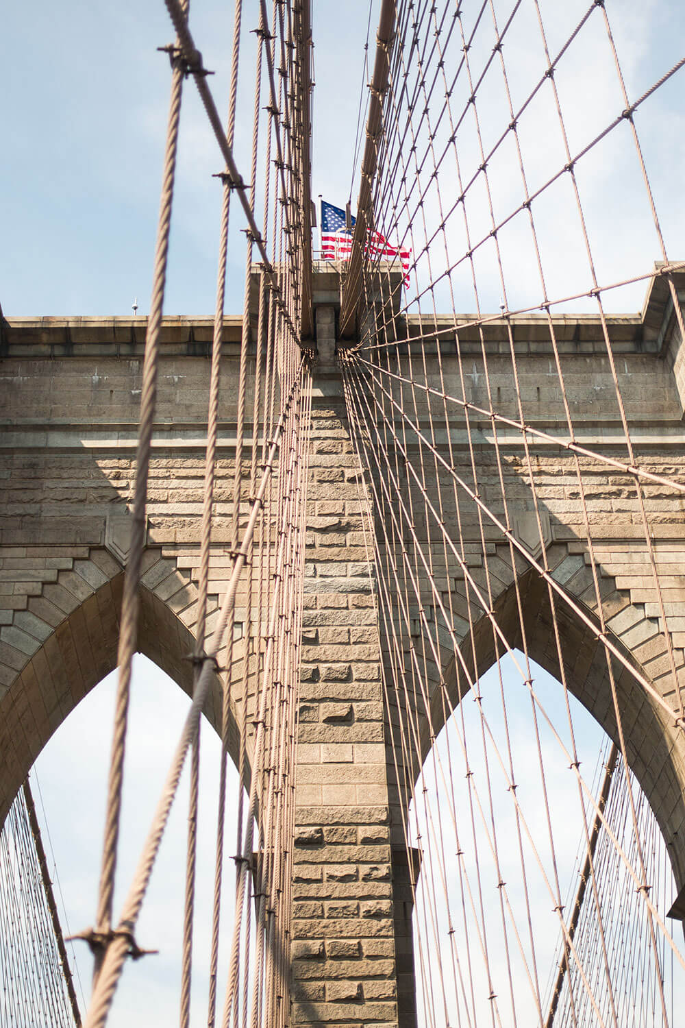 A Day in NYC: Brooklyn Bridge from Below // Hello Rigby Seattle Fashion & Travel Blog