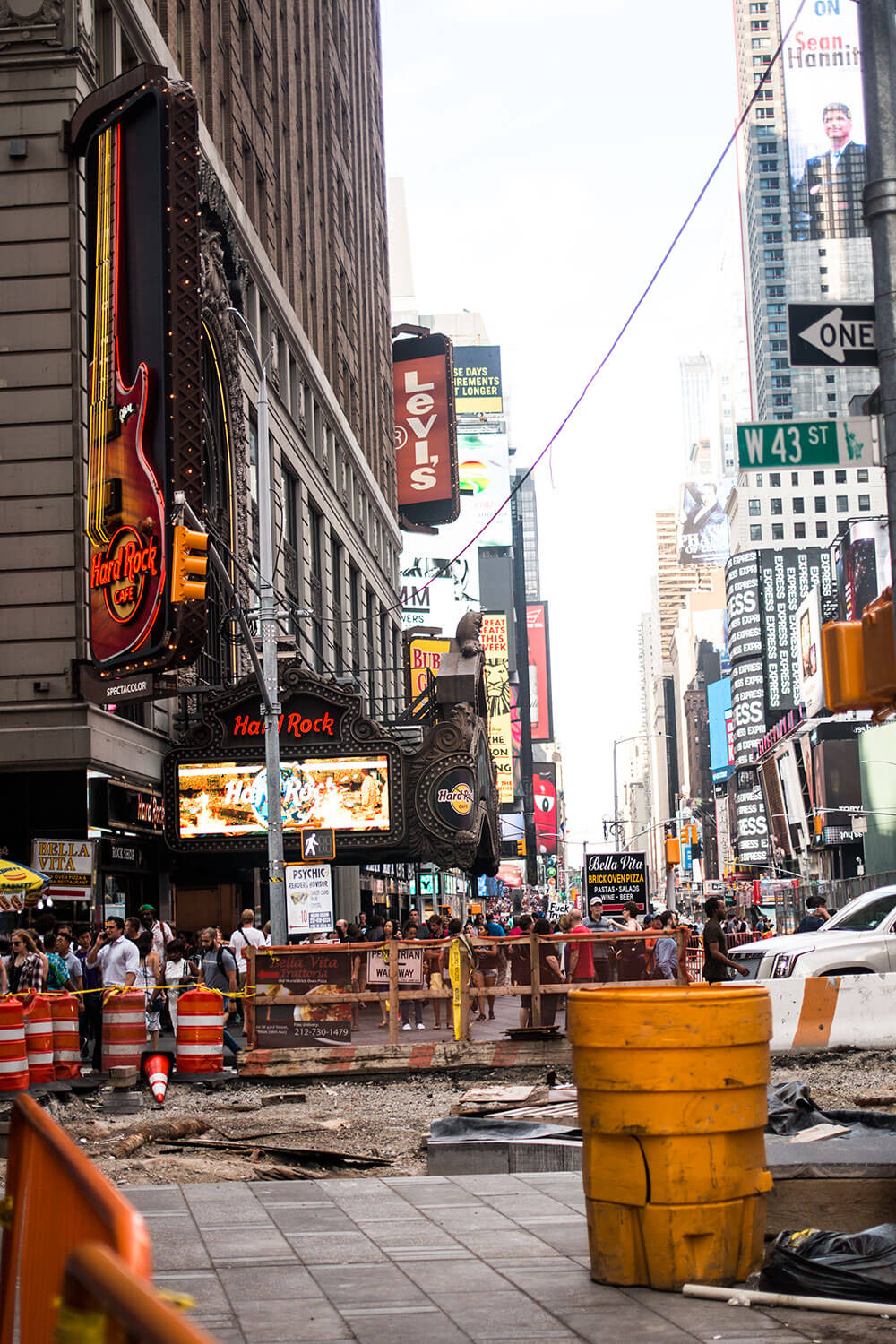 A Day in NYC: Times Square Under Construction // Hello Rigby Seattle Travel Blog