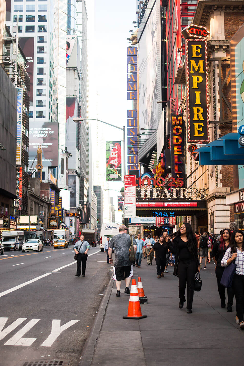 A Day in NYC: Times Square // Hello Rigby Seattle Fashion Travel Blog