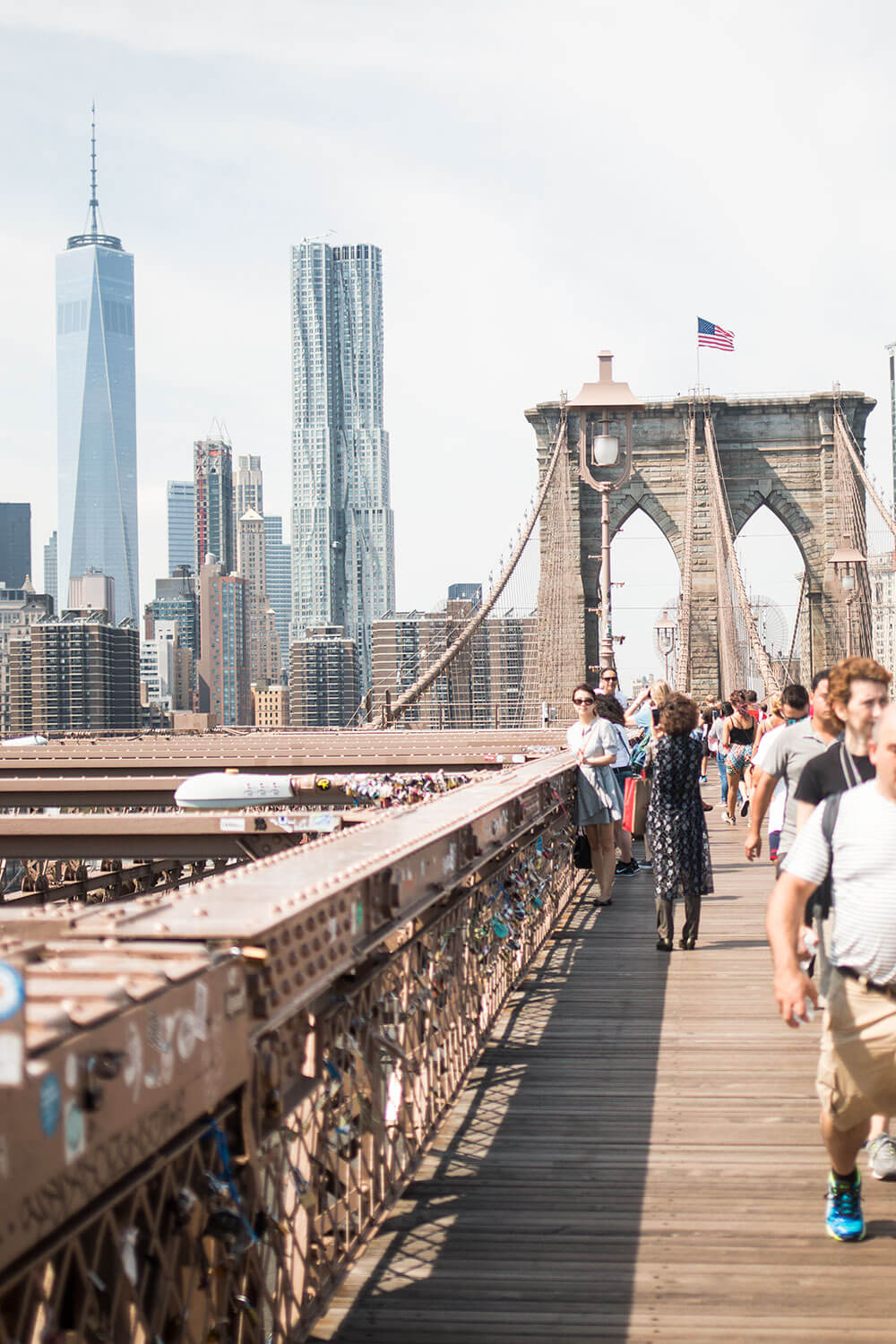 A Day in NYC: Walk Over the Brooklyn Bridge // Hello Rigby Seattle Travel Blog