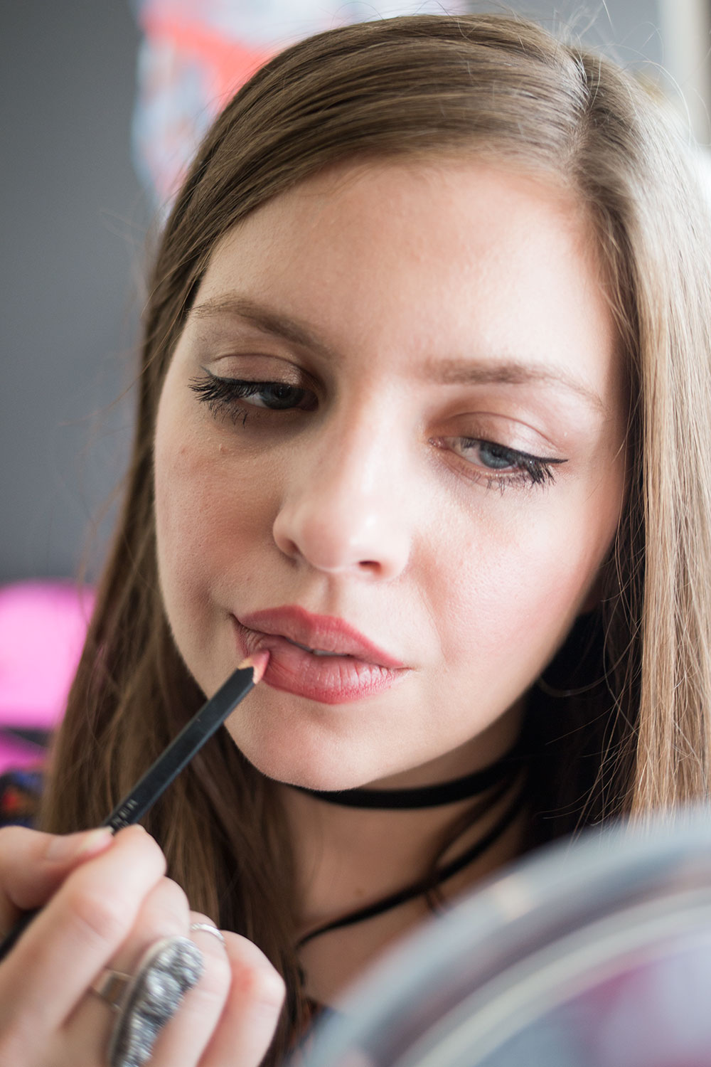 Make Lips Look Bigger by Overlining with Lip Pencil // Hello Rigby Seattle Beauty Blog