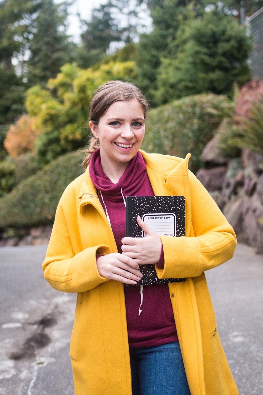 Harriet the Spy Costume // Work Halloween Costumes // Hello Rigby Seattle Fashion Blog