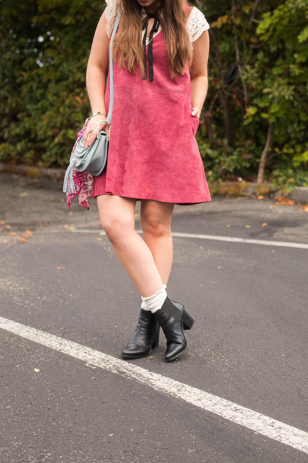 How to Wear Ankle Boots with Socks // Hello Rigby Seattle Fashion Blog