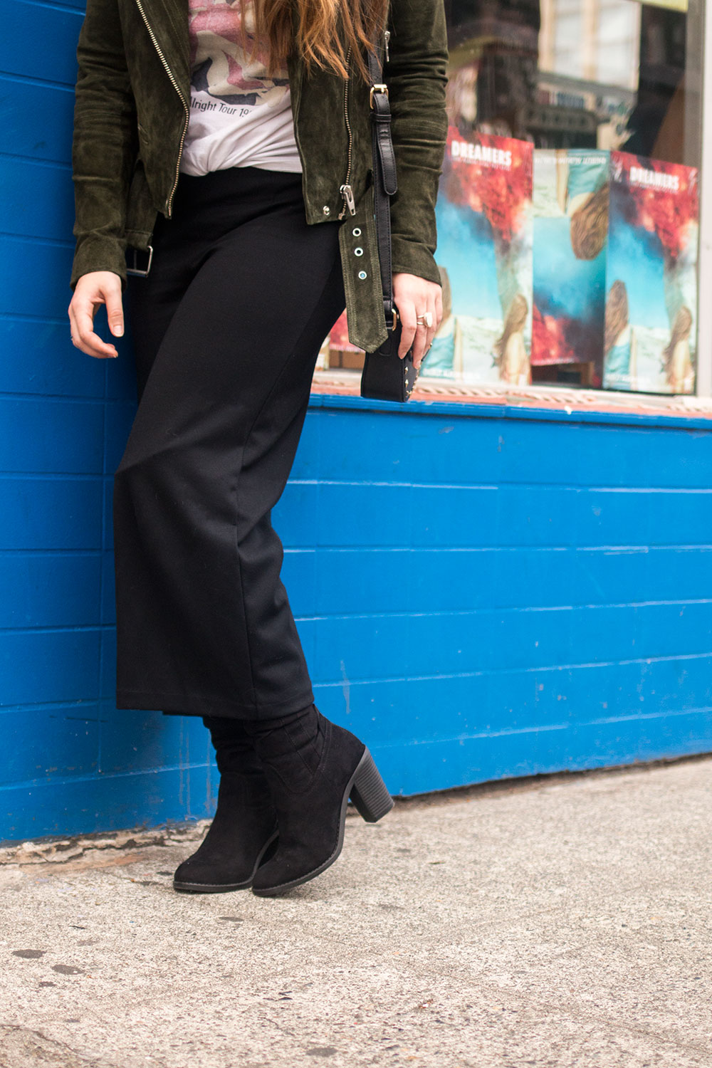 How to Wear Cropped Pants with Boots // Hello Rigby Seattle Fashion Blog