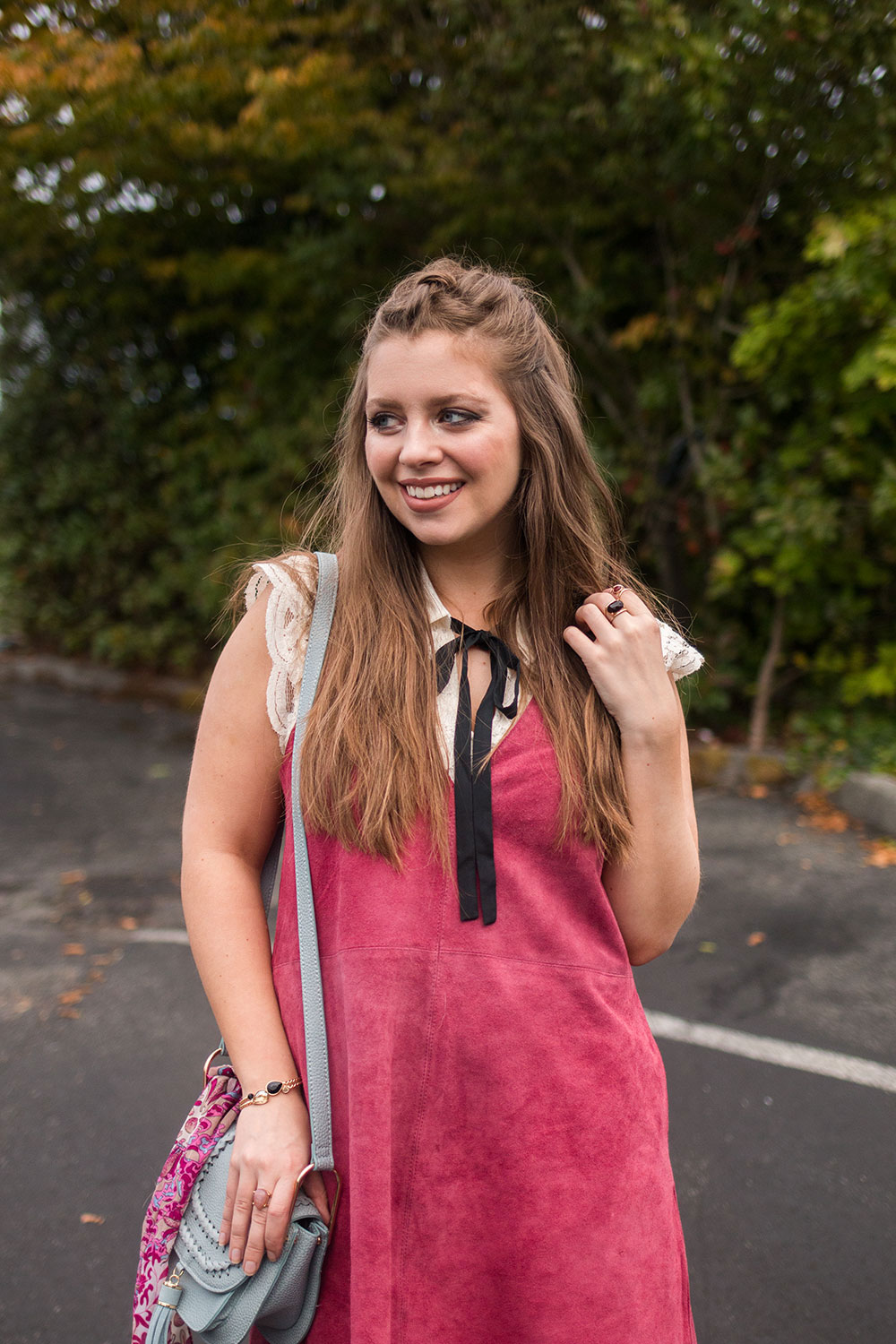 Ways to Wear Suede Dress for Fall // Hello Rigby Seattle Fashion Blog