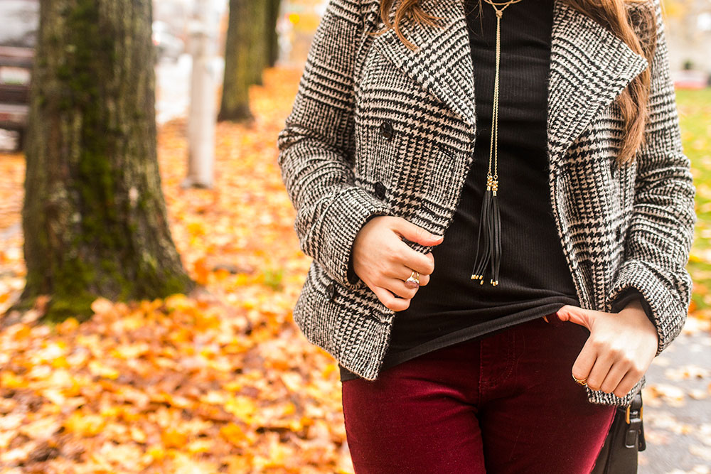 Fall Outfits: Plaid Jacket Outfit // Hello Rigby Seattle Fashion Blog
