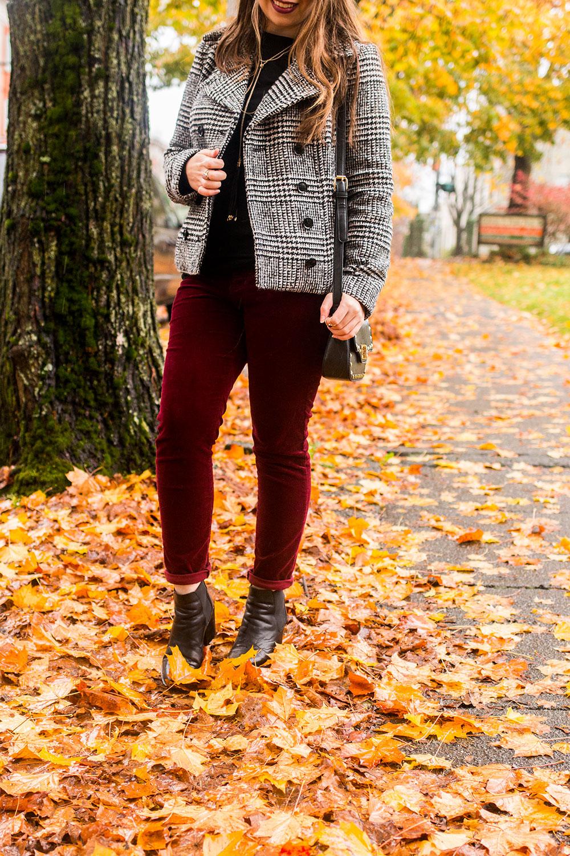 Fall Uniform: Banana Republic Plaid Jacket // Hello Rigby Seattle Fashion Blog