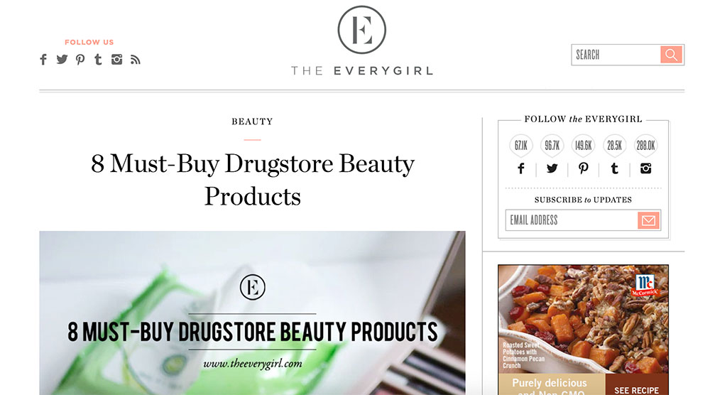 Hello Rigby Photography Featured on The Everygirl