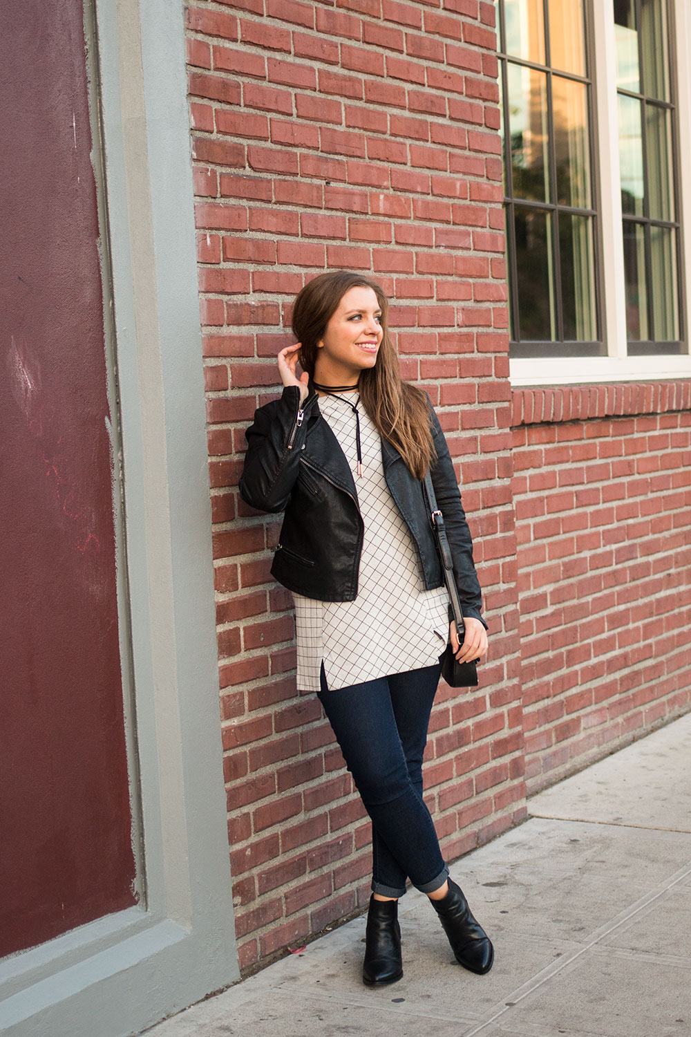 How to Wear a Tunic Top for Petites // Hello Rigby Seattle Fashion Blog