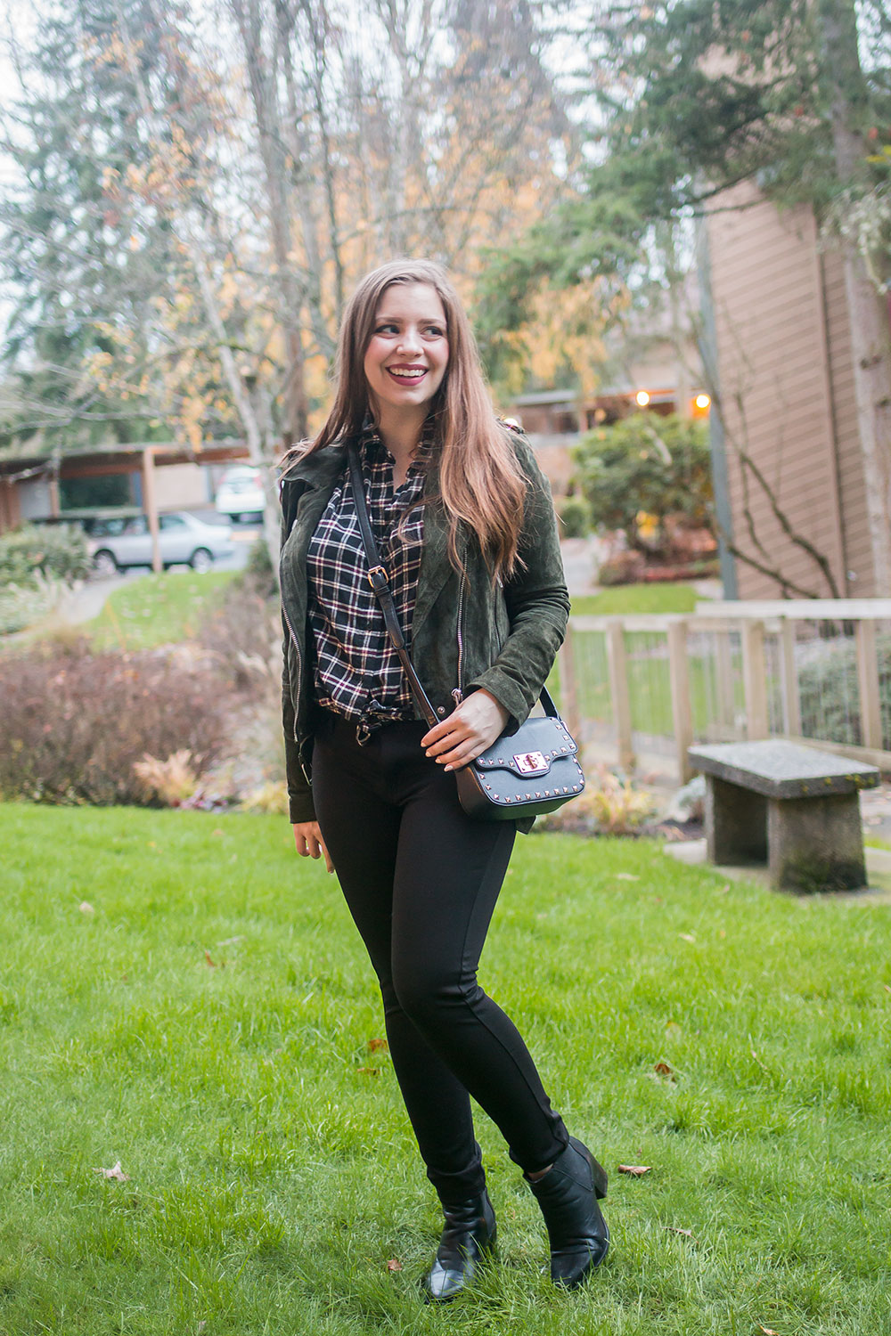 Stitch Fix December 2016: Liverpool Anita Skinny Pant Legging // Hello Rigby Seattle Fashion Blog