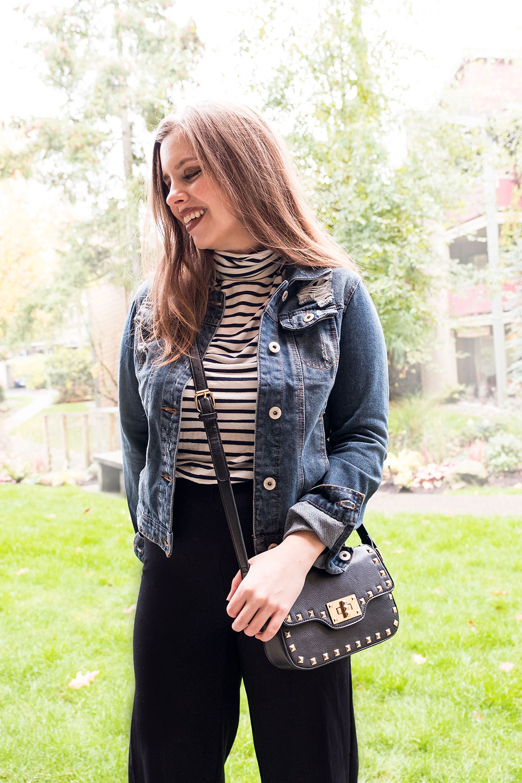 Stitch Fix November 2016 // Ci Sono Sayson Denim Jacket Outfit // Hello Rigby Seattle Fashion Blog