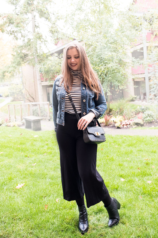 Stitch Fix November 2016 // Ci Sono Sayson Denim Jacket // Hello Rigby Seattle Fashion Blog