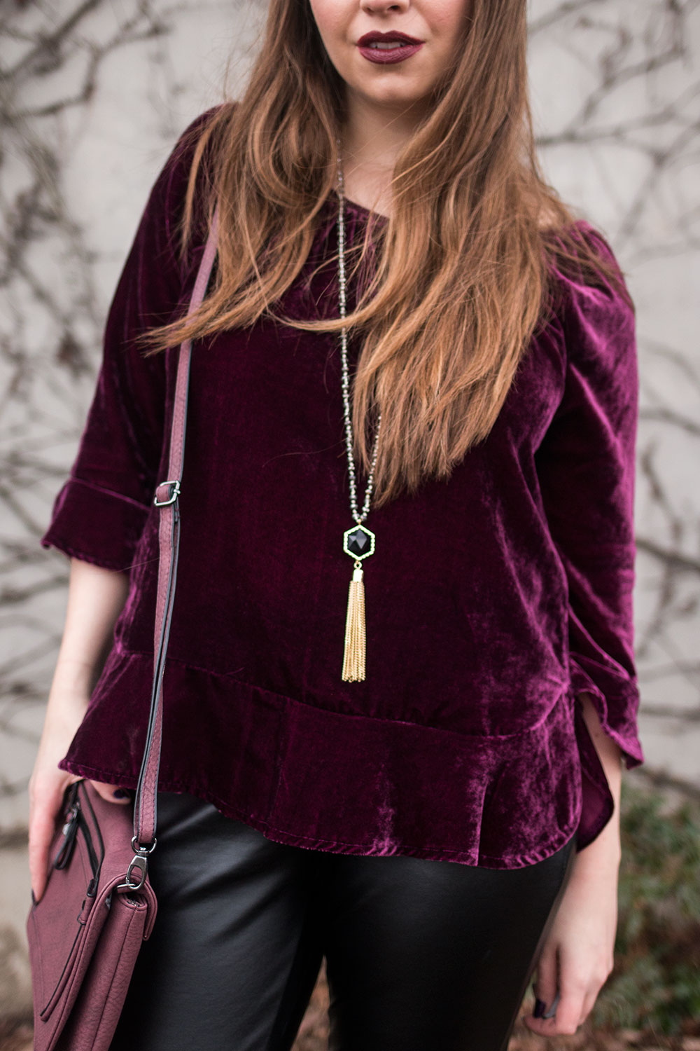 Edgy Winter Party Outfit // Hello Rigby Seattle Fashion Blog