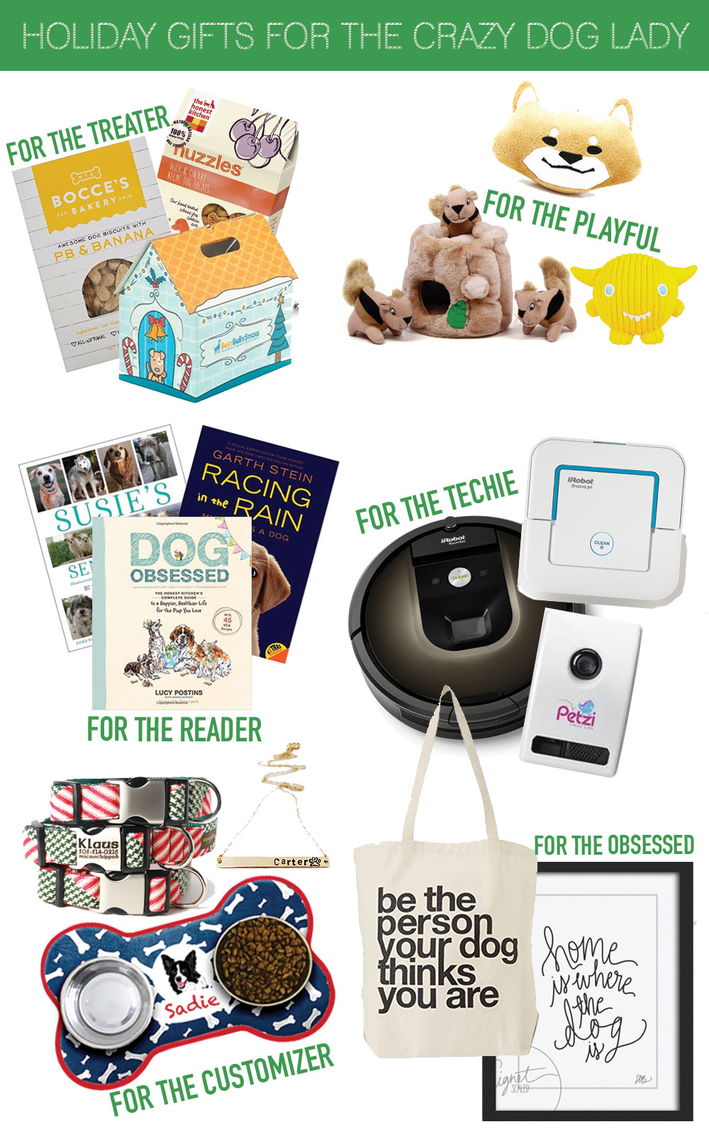 Holiday Gifts fro the Dog Lovers // Pet Owner Gift Guide // Hello Rigby Seattle Lifestyle Blog