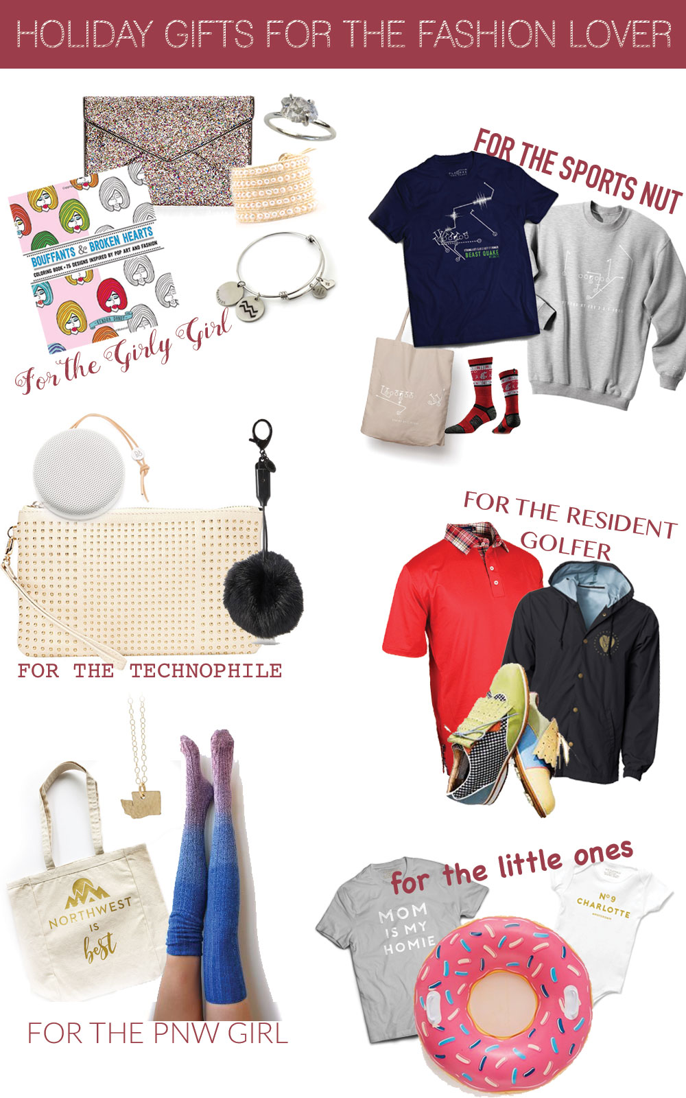 Gifts for Fashion Lovers // Holiday Gift Guide 2016 @hellorigby