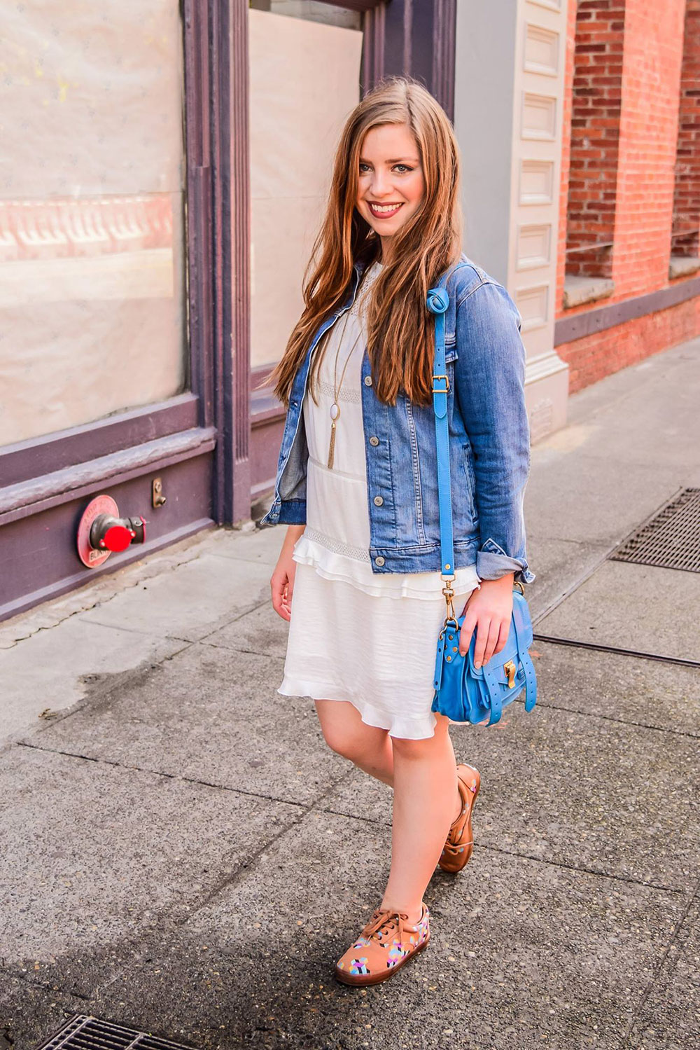 How to Wear Sneakers with Dresses // Hello Rigby Seattle Fashion Blog