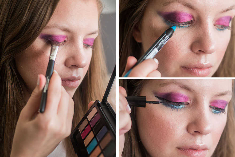 Maybelline Graffiti Palette + LA Girl Liner // Hello Rigby Seattle Beauty Blog