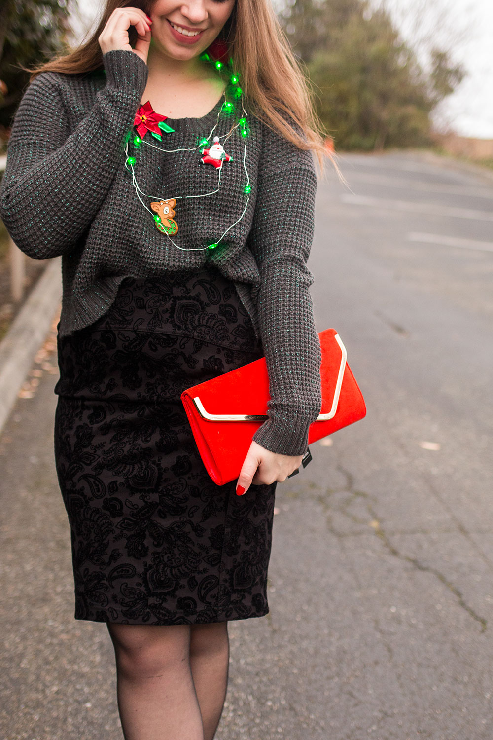 Tacky Christmas Sweater Outfit // Hello Rigby Seattle Fashion Blog