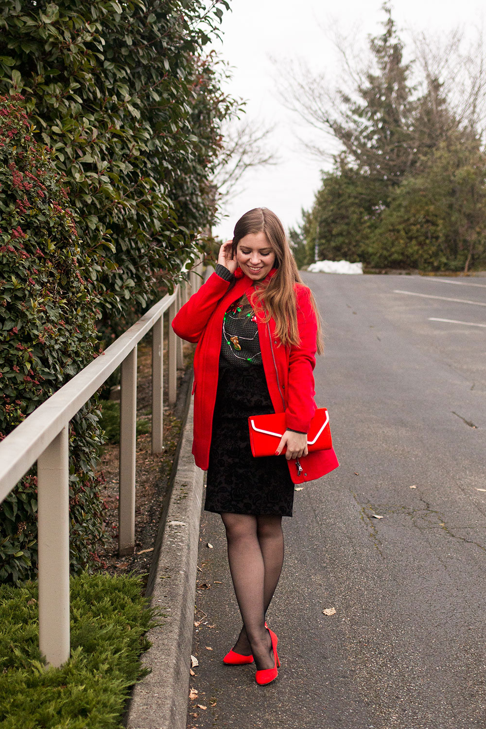 Ugly Christmas Sweater Outfit // Hello Rigby Seattle Fashion Blog