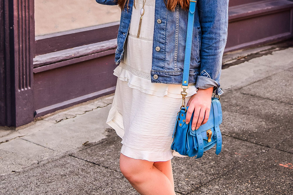 Who What Wear x Target Ruffled Dress with Sneakers // Hello Rigby Seattle Fashion Blog