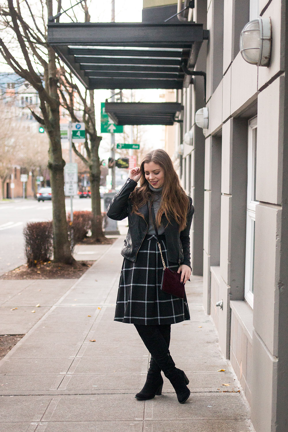 Winter Party Outfits with Over the Knee Boots // Hello Rigby Seattle Fashion Blog
