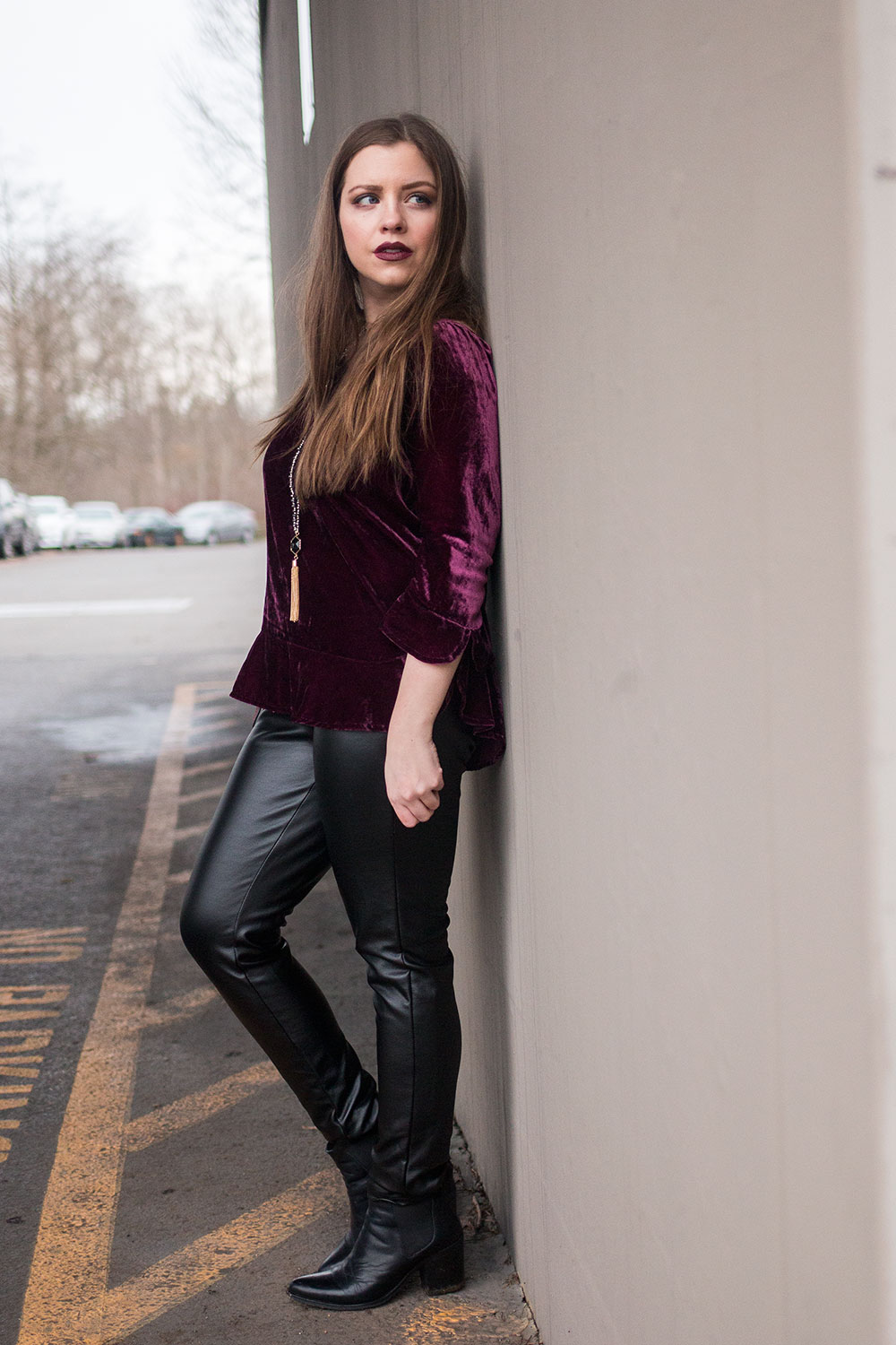 Winter Party Outfits with Velvet // Hello Rigby Seattle Fashion Blog