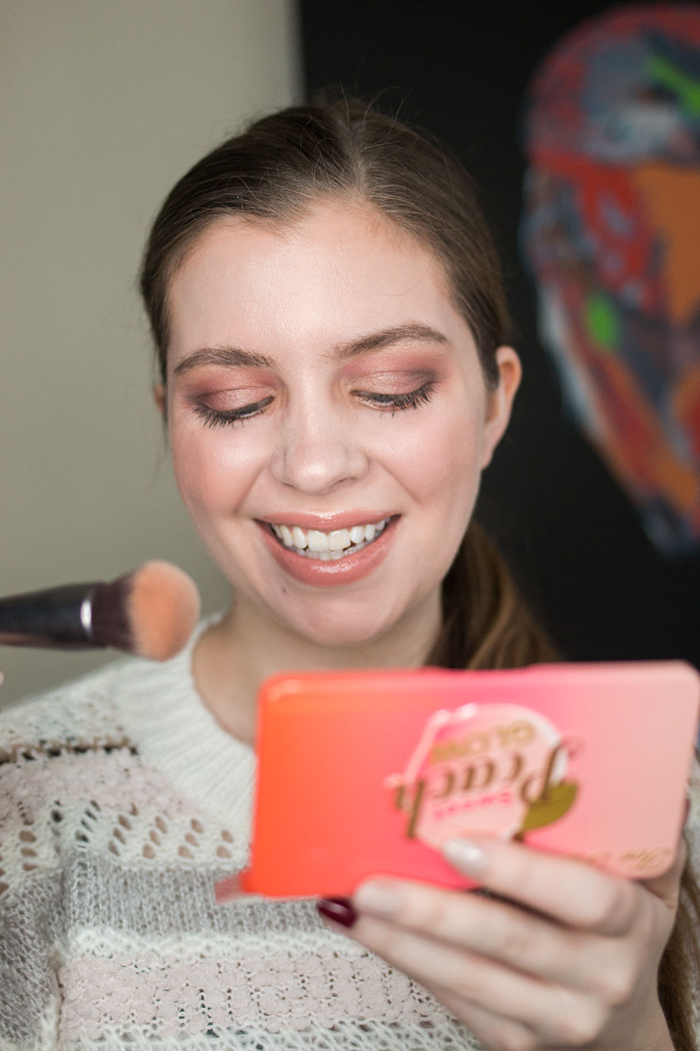 Too Faced Sweet Peach Glow Palette Review // Hello Rigby Seattle Beauty Blog