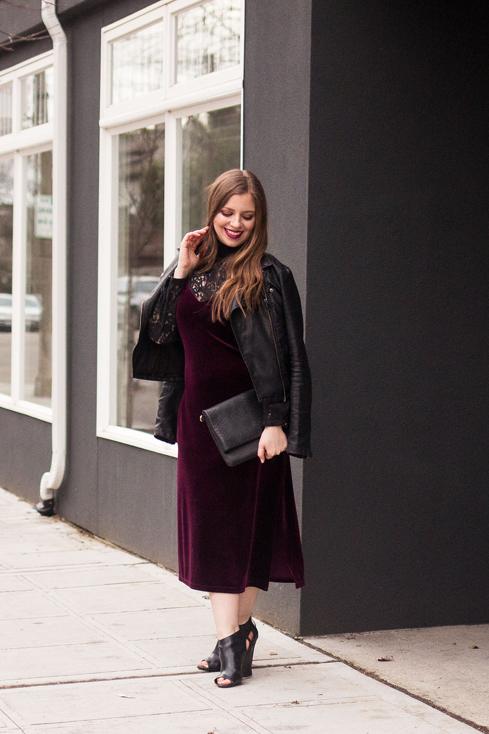 Day to Night Outfits with Midi Dress // Hello Rigby Seattle Fashion Blog