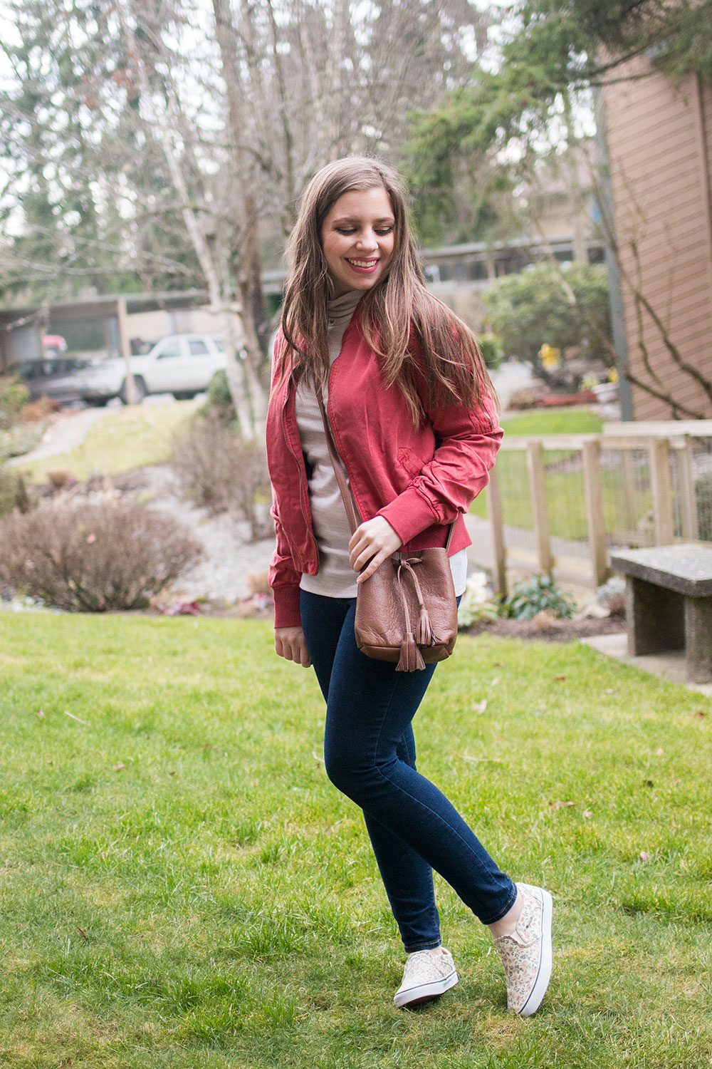 Dear John Dalba Bomber Jacket // Stitch Fix February 2017 Review // Hello Rigby Seattle Fashion Blog