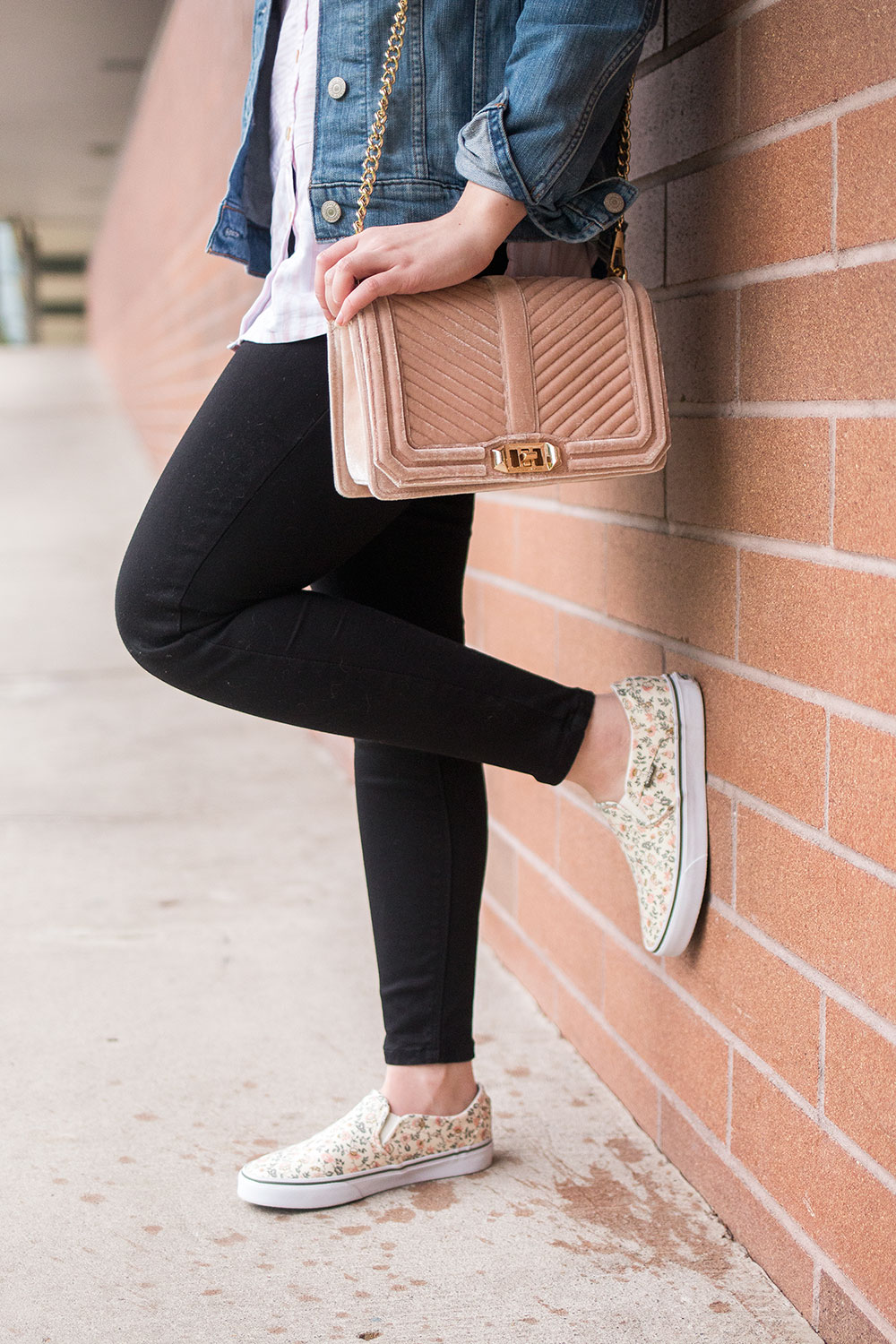 Casual Outfit for Spring with Floral Sneakers // Hello Rigby Seattle Fashion Blog