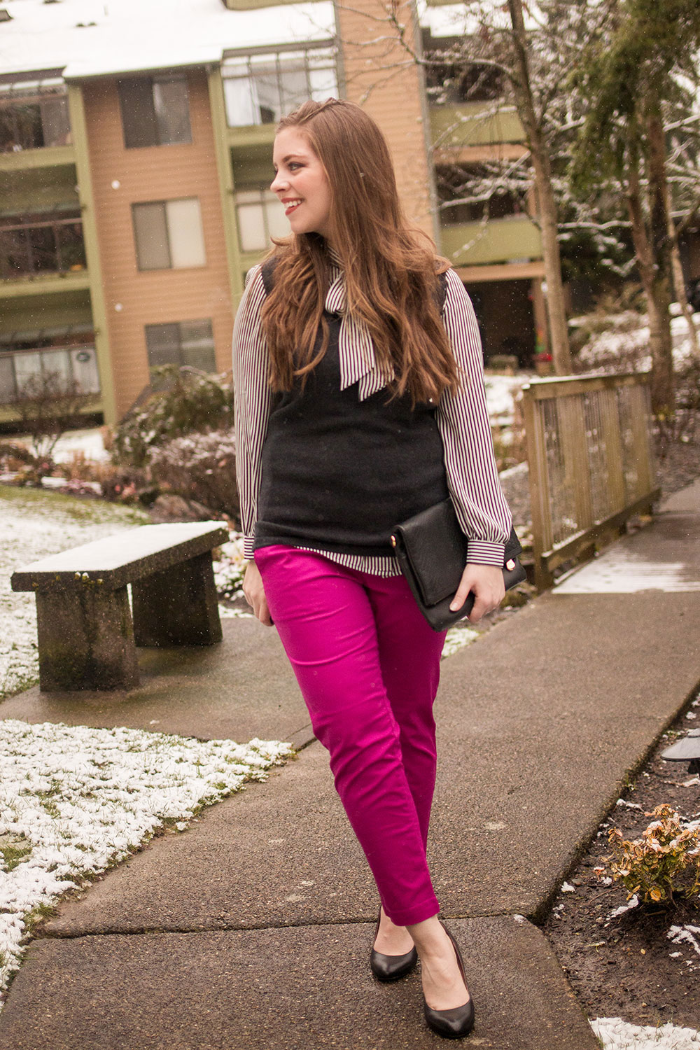 Stitch Fix March 2017 // Kut From the Kloth Siena Cropped Pant // Hello Rigby Seattle Fashion Blog